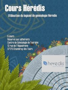22 novembre 2021 - Cours Heredis 2/5 (au local)