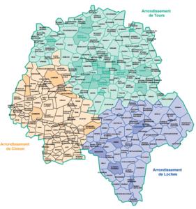 carte de la touraine La Touraine cartes à télécharger   Centre Généalogique de Touraine