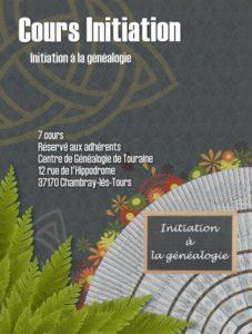 16 novembre 2020 - Initiation à la généalogie 1/7 (cours à distance)