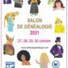27, 28, 29 et 30 octobre 2021 - 7e Salon de Généalogie - Mairie du 15e