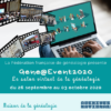26 septembre au 3 octobre 2020 Gene@Event2020