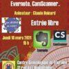 24 juin 2021 - Les jeudis du CGDT - Les outils numériques : Evernote, CamScanner 2e session (à distance)