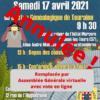 17 Avril 2021 Assemblée Générale : Annulée !
