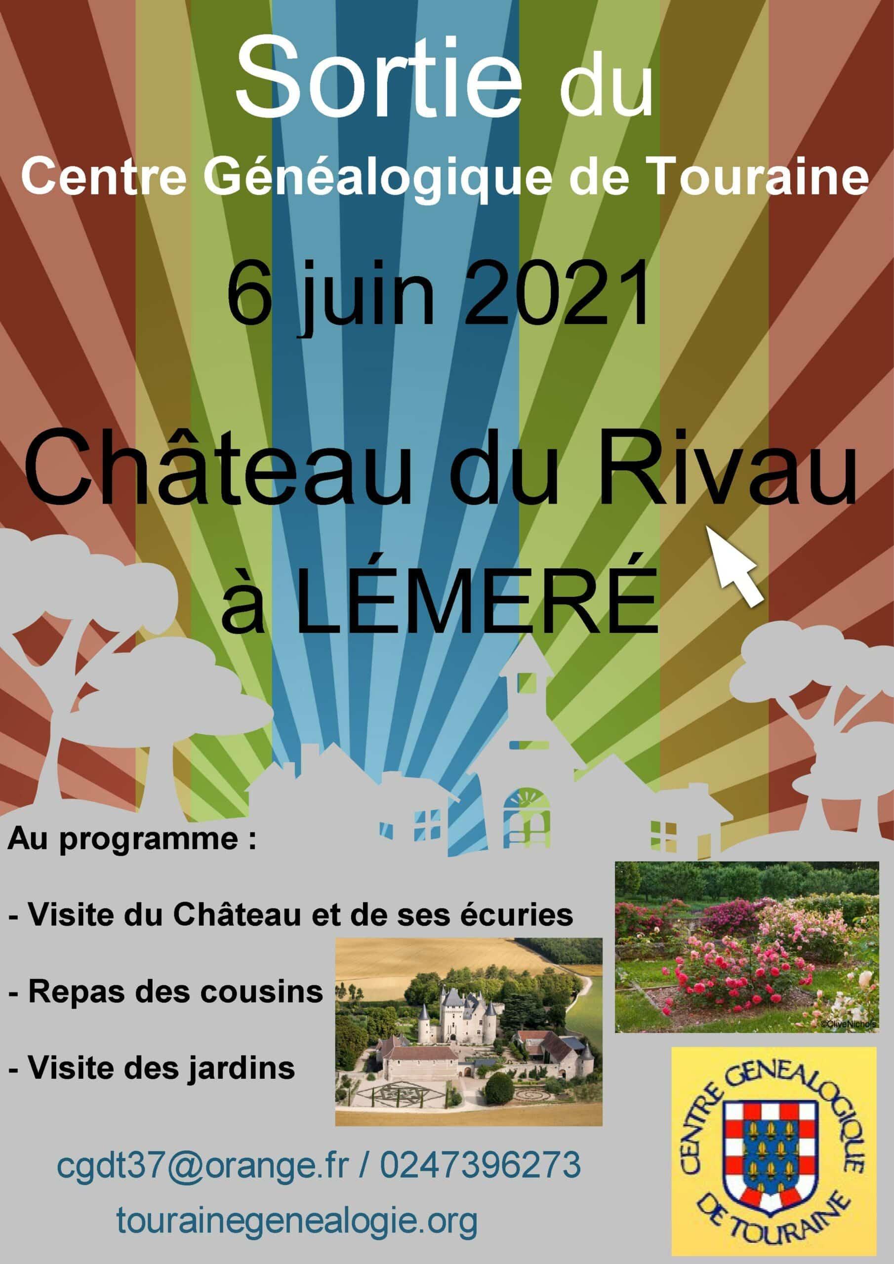 6 juin 2021 - Sortie annuelle - Château du Rivau